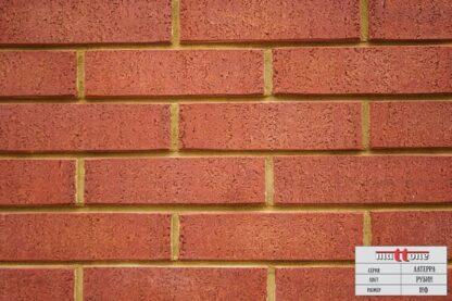 Кладка из облицовочного кирпича Mattone «Латерра Рубин» 1НФ